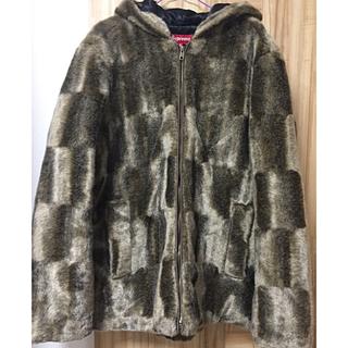 シュプリーム(Supreme)のsupreme Faux Fur Hooded Zip Jacket(毛皮/ファーコート)