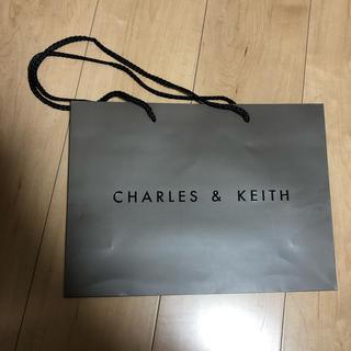 チャールズアンドキース(Charles and Keith)のCHARlES & KEITH ショップバッグ 袋(ショップ袋)