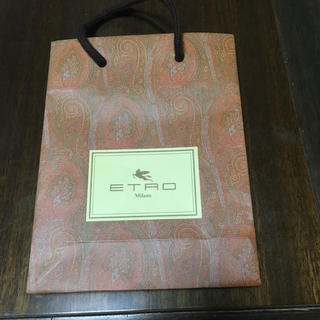 エトロ(ETRO)のETRO エトロ ショップ袋  ショッパー(ショップ袋)