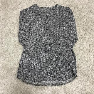 韓国子供服 レオパード ワンピース(ワンピース)