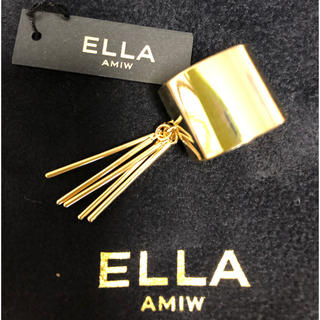 アミウ(AMIW)のELLA AMIW デザイン リング 真鍮(リング(指輪))