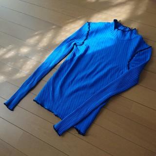 ザラ(ZARA)の【ZARA】コントラスト トリムTシャツ*カットソー(Tシャツ(長袖/七分))