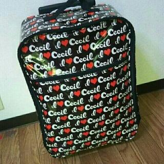 セシルマクビー(CECIL McBEE)の【けいこ様専用】スーツケース キャリーバック セシルマクビー(スーツケース/キャリーバッグ)