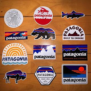 パタゴニア(patagonia)の豪華12点‼️ パタゴニア patagonia ステッカー 公式 レトロX(ステッカー)