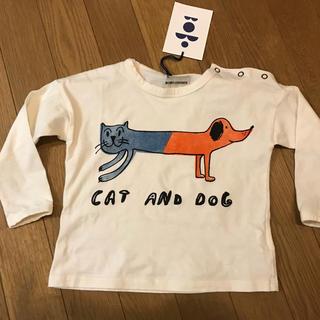 ボボチョース(bobo chose)のBOBO CHOSES cat and dog ロンT(Tシャツ/カットソー)