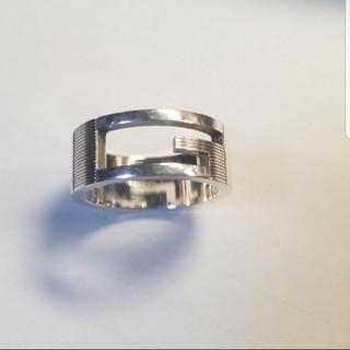 グッチ(Gucci)のGUCCI Gロゴ リング 14号(リング(指輪))