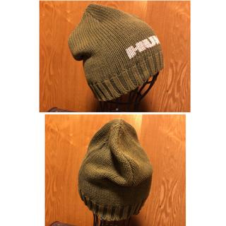 ハマー(HUMMER)の💗新品💗HUMMER 綿100%サイズフリー   ユニセックス💗(ニット帽/ビーニー)