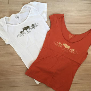 アールジーン(Earl Jean)のEarl Jeanアールジーン Tシャツ2枚セット(Tシャツ(半袖/袖なし))