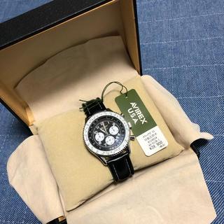 アヴィレックス(AVIREX)のお安くします‼️新品未使用‼️稼働‼️AVIREXアヴィレックスクロノグラフ(腕時計(アナログ))