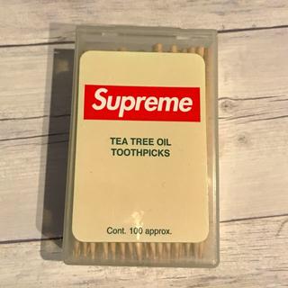 シュプリーム(Supreme)の【Supreme】TEA TREE OIL TOOTHPICKS(口臭防止/エチケット用品)
