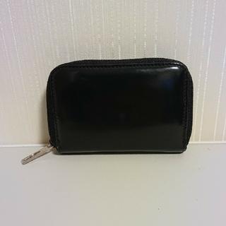 グッチ(Gucci)のグッチ コインケース  カードケース エナメル ブラック(コインケース/小銭入れ)
