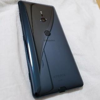 エクスペリア(Xperia)のdocomo最新XPERIA  XZ3 SONY  SO-01L  グリーン(スマートフォン本体)