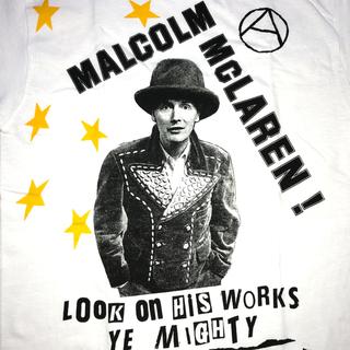 シックスシックスシックス(666)の☆新品☆Malcolm McLaren セックス・ピストルズ Tシャツ Sサイズ(Tシャツ/カットソー(半袖/袖なし))