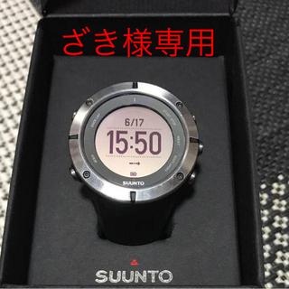 スント(SUUNTO)のざき様専用  SUUNTO AMBIT2 Sapphire HR(腕時計(デジタル))