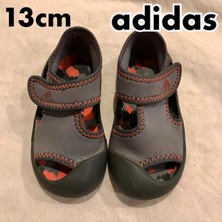 アディダス(adidas)のadidas アディダス サンダル スニーカー キッズ ベビー 13cm(サンダル)