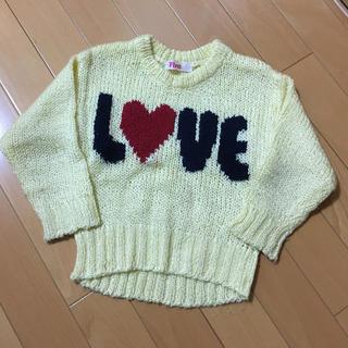 イングファースト(INGNI First)のINGNI FIRST 可愛い セーター S 100 110(Tシャツ/カットソー)