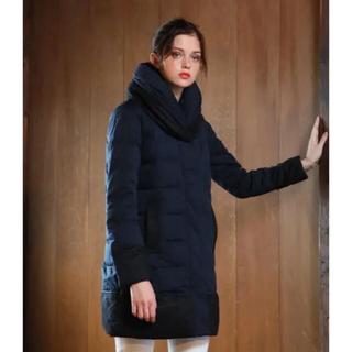 ビームス(BEAMS)の冬物値下‼️YOSOOU ◆ ツーピースカラーコート ブラック(ダウンコート)