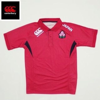 d2b612f9942784 カンタベリー(CANTERBURY)の新品 選手支給品 ラグビー日本代表 カンタベリー 半袖ポロシャツ サイズ
