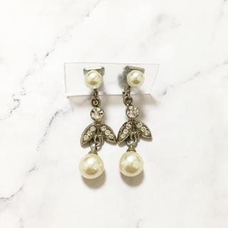 ヨンドシー(4℃)のVintage * pearl earring(イヤリング)