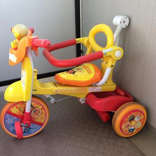 アンパンマン  折り畳み 三輪車(三輪車)