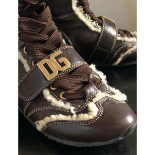 ドルチェアンドガッバーナ(DOLCE&GABBANA)のDOLCE&GABBANAフラットブーツ(ブーツ)