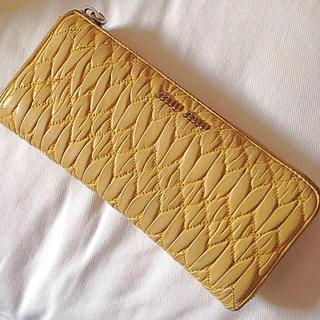 ミュウミュウ(miumiu)の値下げ❣️miu miu 長財布(財布)
