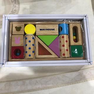 ミキハウス(mikihouse)のMIKIHOUSE つみき 新品 (積み木/ブロック)