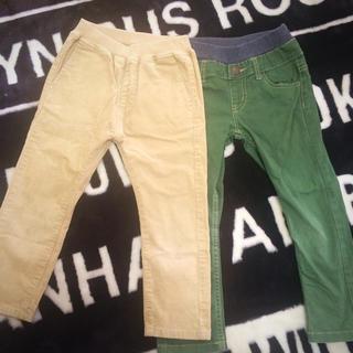 MUJI (無印良品) - パンツ 二本セット 100cm 110cm