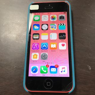 アップル(Apple)のiPhone 5c 16GB au(スマートフォン本体)