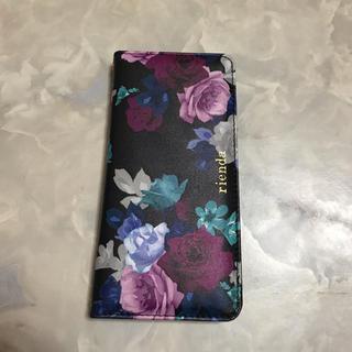 リエンダ(rienda)のリエンダ  iPhone8 Plus  手帳ケース(iPhoneケース)