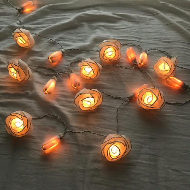 Francfranc(フランフラン)のローズルームライト インテリア/住まい/日用品のライト/照明/LED(その他)の商品写真