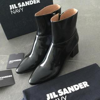 ジルサンダー(Jil Sander)の【週末限定】定価約8.5万早い者勝ち‼️新品正規品ジルサンダーネイビー(ブーツ)
