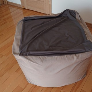 ムジルシリョウヒン(MUJI (無印良品))のビーズクッション カバー付  無印良品(ビーズソファ/クッションソファ)