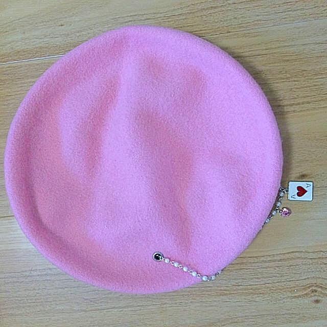Heart E(ハートイー)のHeartE ハートイー ベレー帽 レディースの帽子(ハンチング/ベレー帽)の商品写真