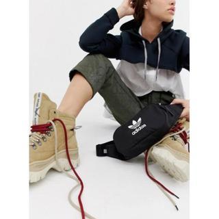 アディダス(adidas)のadidas original アディダス ポシェット ボディバッグ ブラック(ボディバッグ/ウエストポーチ)