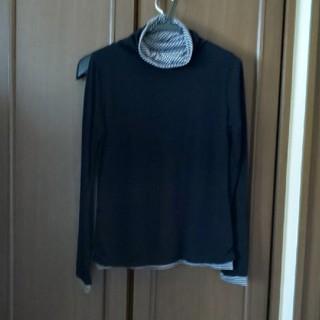 ベルメゾン(ベルメゾン)のホットコット二枚仕立てのインナー(アンダーシャツ/防寒インナー)