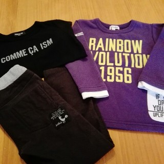シューラルー(SHOO・LA・RUE)のキッズブランド3点セット✨早いもの勝ち(Tシャツ/カットソー)