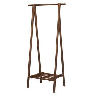 木製 ハンガーラック シンプル おしゃれ ウッド スリム かわいい 洋服掛け(押し入れ収納/ハンガー)