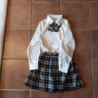 シマムラ(しまむら)の制服 ブラウス スカート リボン セット(ドレス/フォーマル)