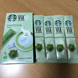 スターバックスコーヒー(Starbucks Coffee)のスタバ スターバックス VIA 抹茶 4本(茶)