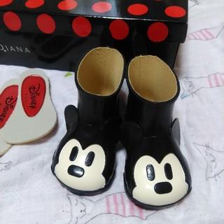 ダイアナ(DIANA)のミッキーマウス DIANA レインブーツ(長靴/レインシューズ)