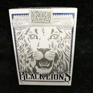 【特別限定版、入手困難】デビットブラウンBACK LIONS 青(トランプ/UNO)