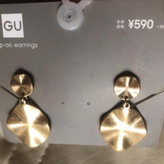 ジーユー(GU)のデザインメタルモチーフ イヤリング GU(イヤリング)