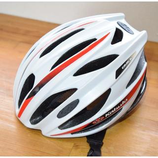オージーケー(OGK)のOGK カブト GAIA-R サイクリング ヘルメット M/L(ウエア)