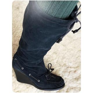 イタリア製 スウェードブーツ(ブーツ)