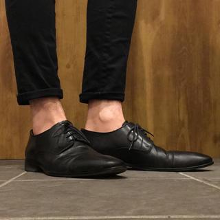 ナノユニバース(nano・universe)の【美品】ナノユニバース 別注 革靴 ドレスシューズ イタリア製 ビジネス 41(ドレス/ビジネス)