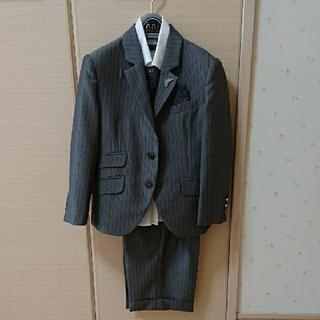 ヒロミチナカノ(HIROMICHI NAKANO)の小学校入学式 男の子 110スーツ シャツ ネクタイ(ジャケット/上着)