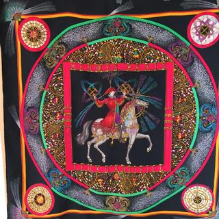 エルメス(Hermes)のエルメス  シルク スカーフ  90✖️90(スカーフ)