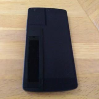 アンドロイド(ANDROID)のNexus5 本体 ケース付き(スマートフォン本体)
