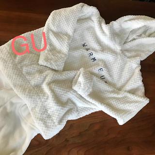 ジーユー(GU)の【Gu】マシュマロフィール☆パジャマ上下set‼︎ホワイトM(パジャマ)